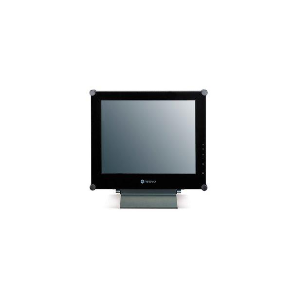 Neovo 15'' TFT security glasf. stålkab. DVI&video