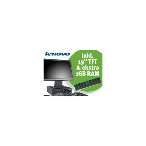 Lenovo ThinkCentre A61e inkl. 19