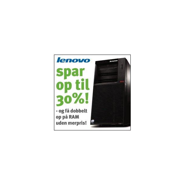 Lenovo ThinkServer - Spar op til 30%