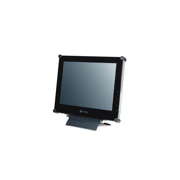 Neovo 19'' TFT glasfront stålkabinet DVI&video