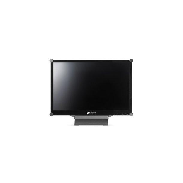 Neovo 22'' Wide TFT glasfront stålkabinet DVI&vide