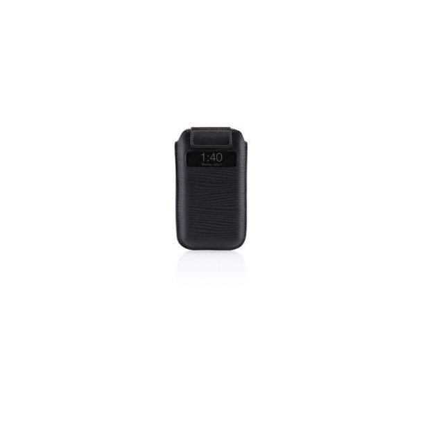 iPhone 4 Verve Pull leather sleeve, Black