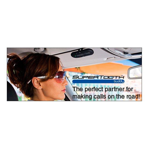 SuperTooth Buddy Car, Bluetooth håndfri mobilsnak