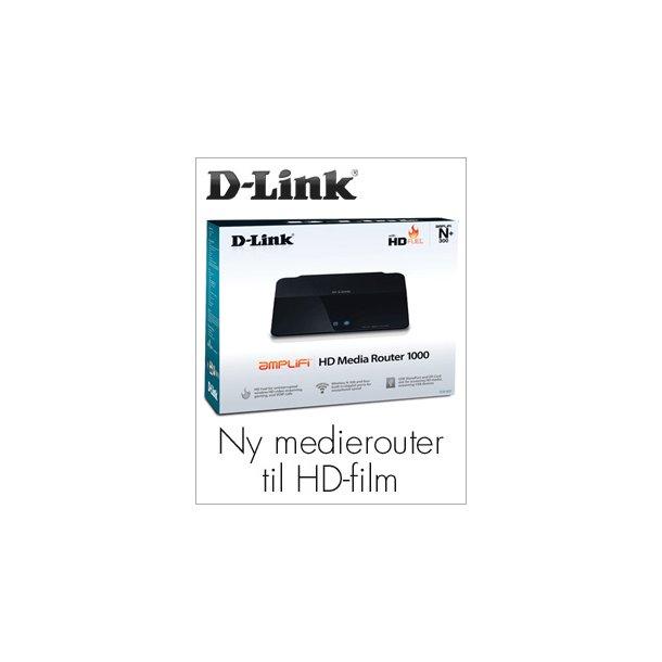D-LINK Wireless N HD Media Router