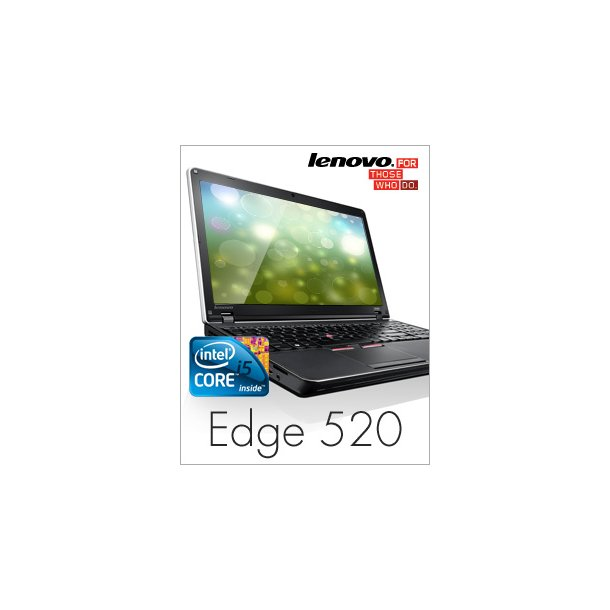 LENOVO ThinkPad Edge 520 Stor performance lav pris