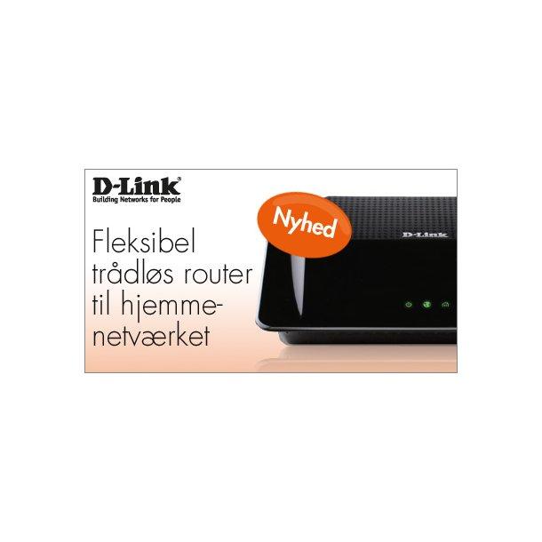 D-Links Wireless N PowerLine Gigabit Router