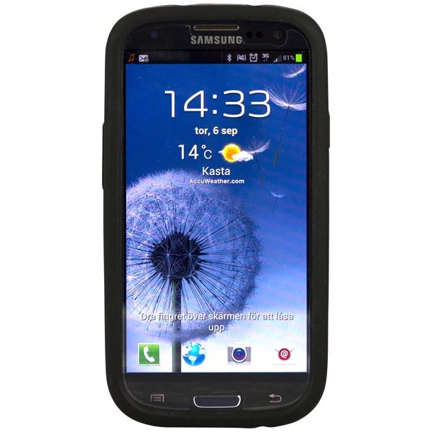 Samsung Galaxy S III silicone plastskal, flere