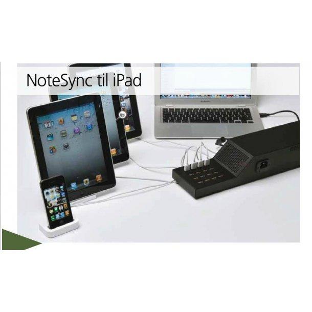 Notesync iPad, iPod, iPod Touc - Opladning og Sync