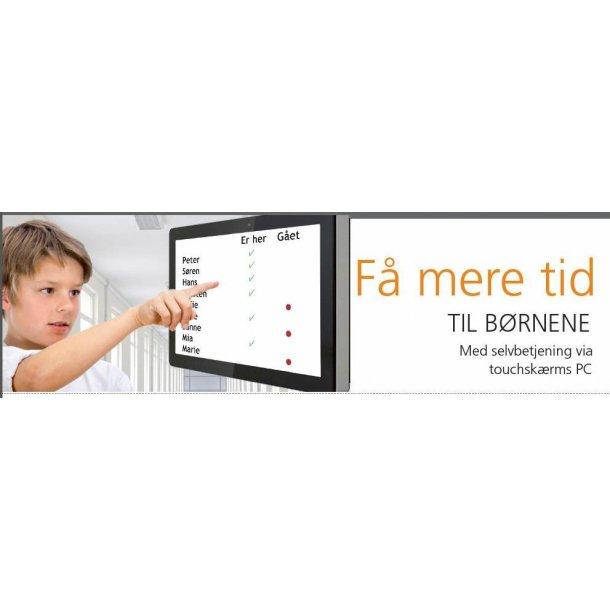 Touchskærm PC Skole SFO Børnehave Offentlig steder