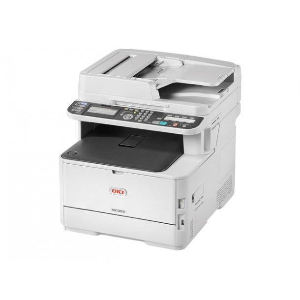 OKI MC363dn A4 farve MFC, duplex, USB og netværk
