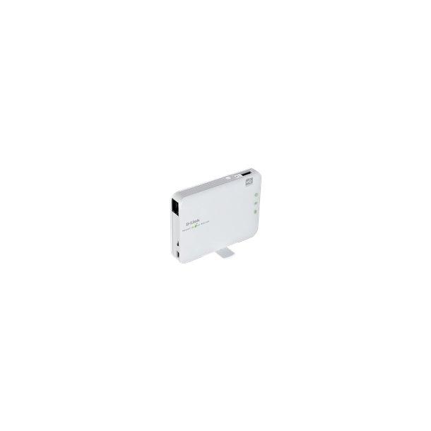D-LINK Pocket Cloud Router USB/batteri