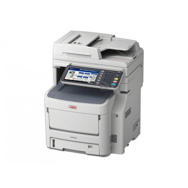 OKI MC760dn MFP Multifunktionsprinter Farve, A4