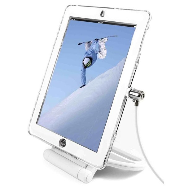 iPad Security roterbar bordstativ og wirelås