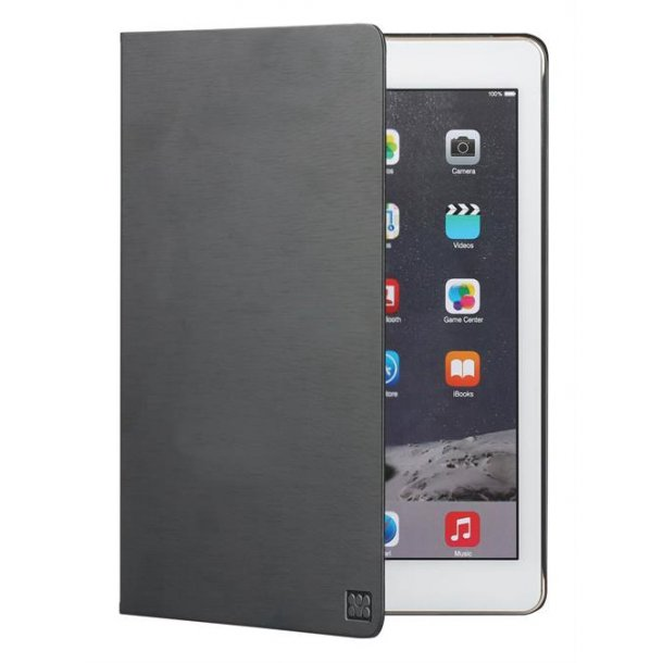 Promate fodral m. støtte funktion iPad Air 2, sort