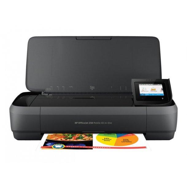 HP Officejet 250 Mobile All-in-One A4 farve inkjet