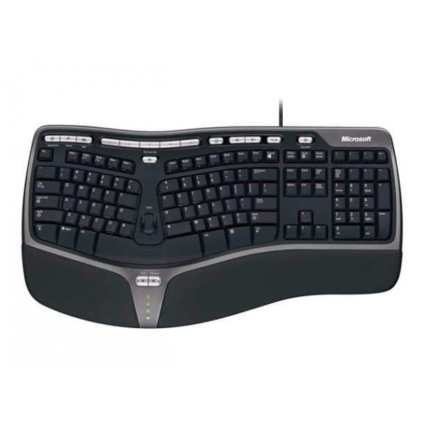 Microsoft Ergonomic Keybord 4000, sort