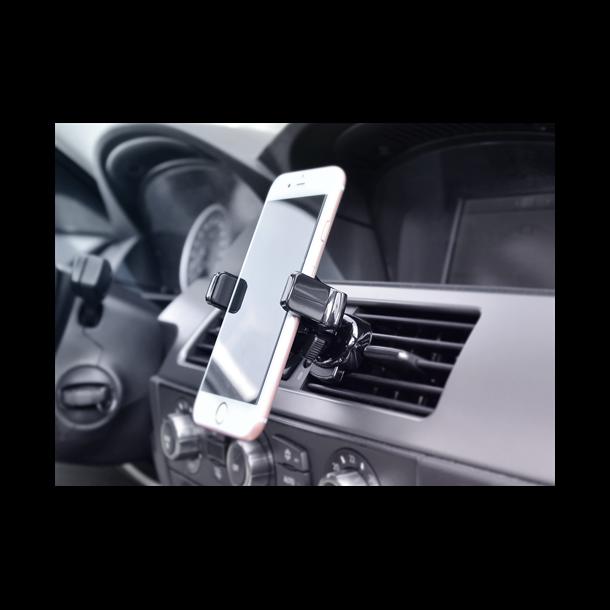Bilholder universal til Smartphone, ventilationsrist