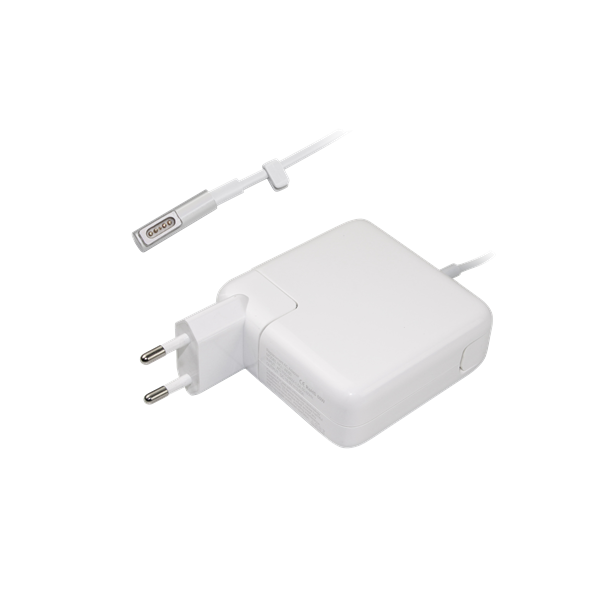 Strømadapter 60W til Macbook Pro, hvid